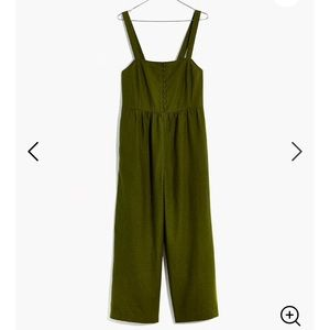 Madewell (Brand-new) button down jumpsuit